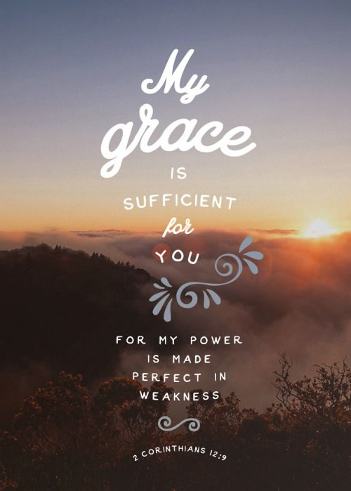 2 Corinthians 12 verse 9