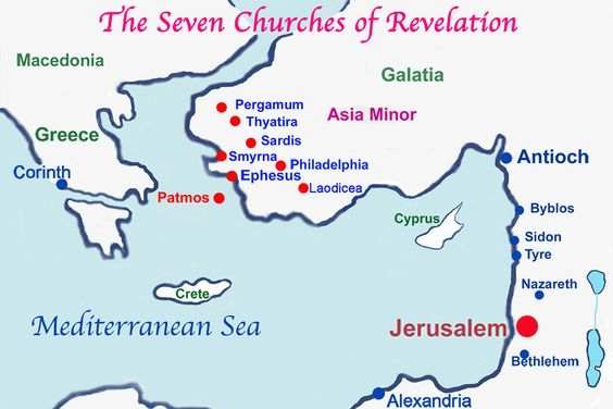 7 churches map