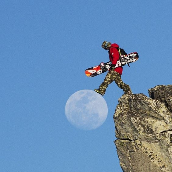 Boarder on moon