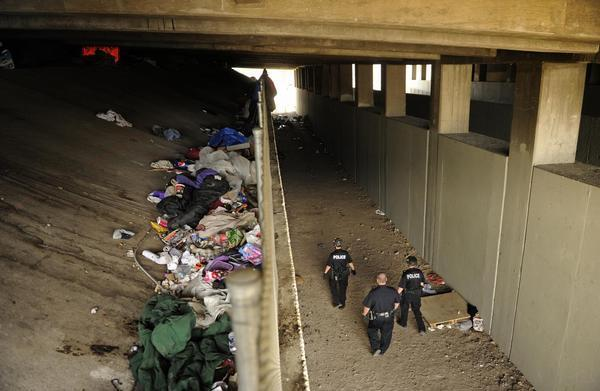 Denver homeless camp