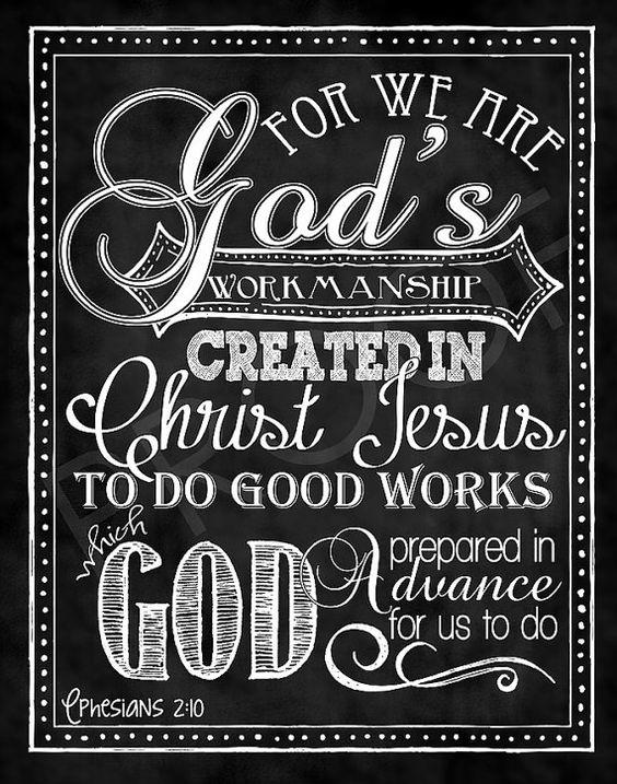 Ephesians 2 v 10