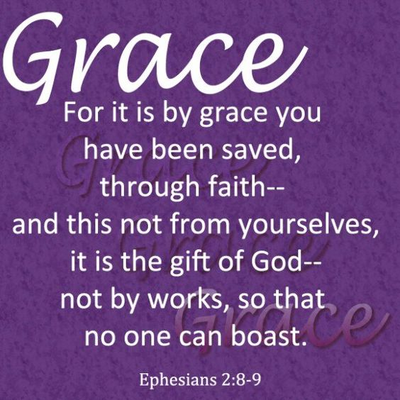 Ephesians 2 verses 8 and 9