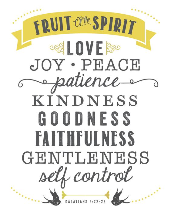 Fruit of the Spirit 2