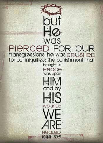 Isaiah 53 verse 5