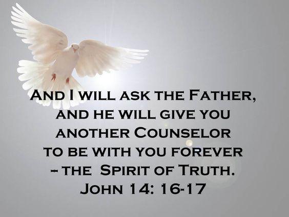 John 14 v 16 17