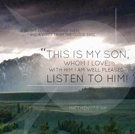 Matthew 17 verse 5