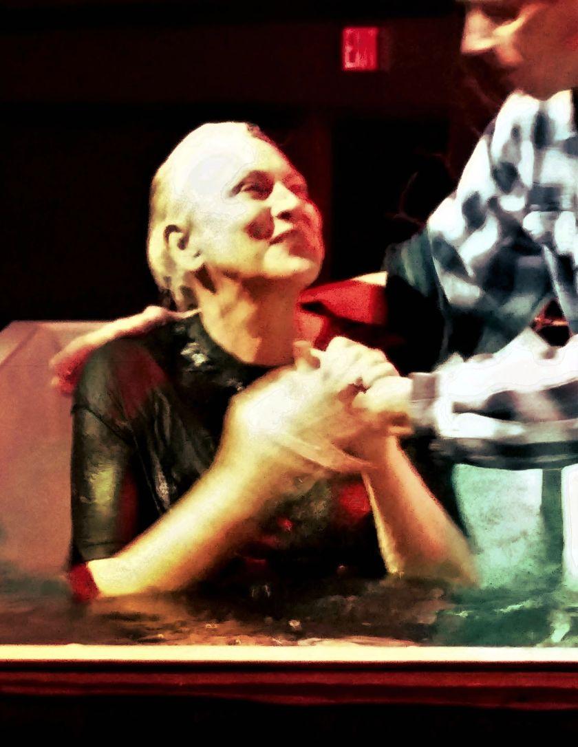 Moms baptism 1