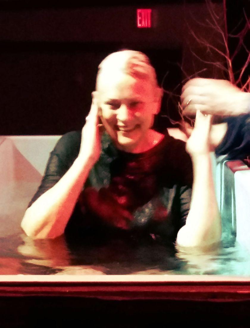 Moms baptism 2