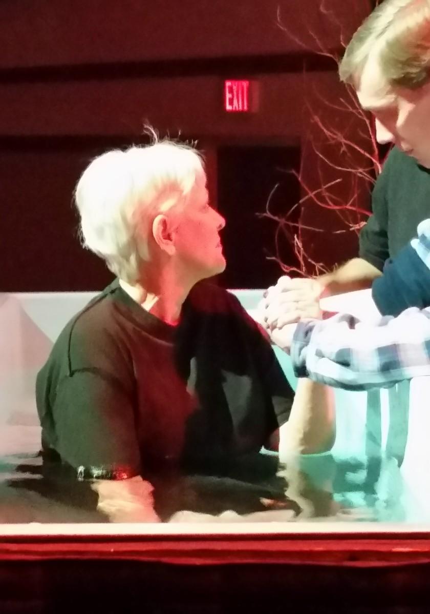 Moms baptism 3