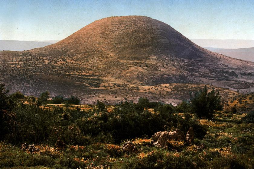 Mount Tabor where transfiguration happened
