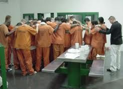 Prisoners praying