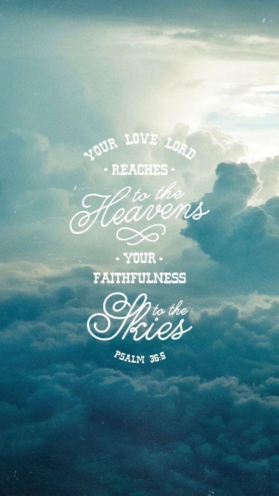 Psalm 36 v 5