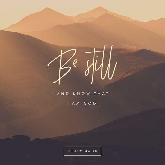 Psalm 46 verse 10