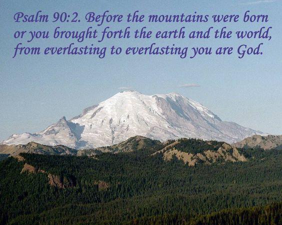 Psalm 90 verse 2