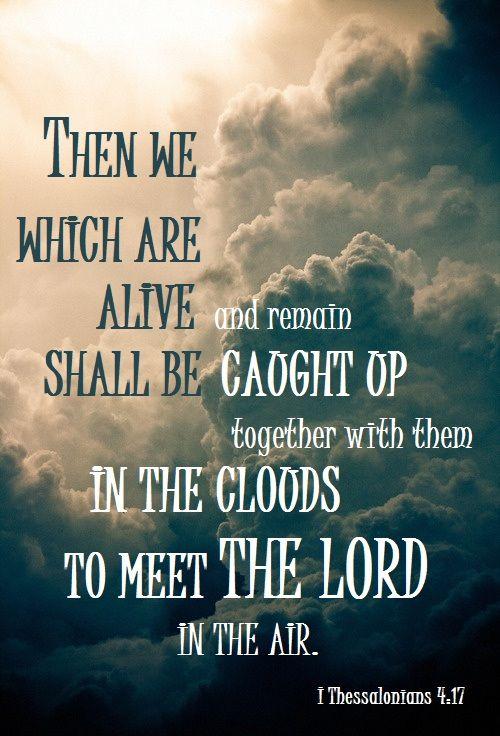 Rapture verse