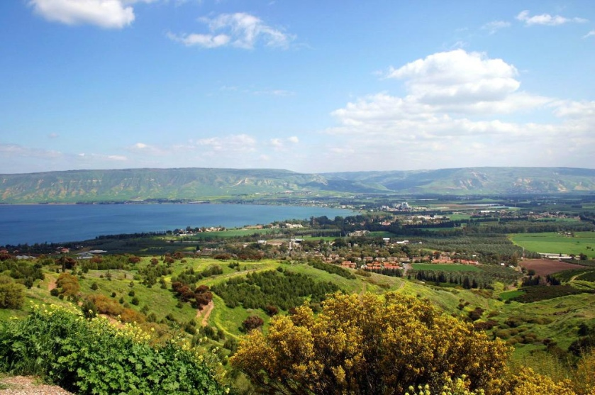 Sea of Galilee 5 with Holy Land