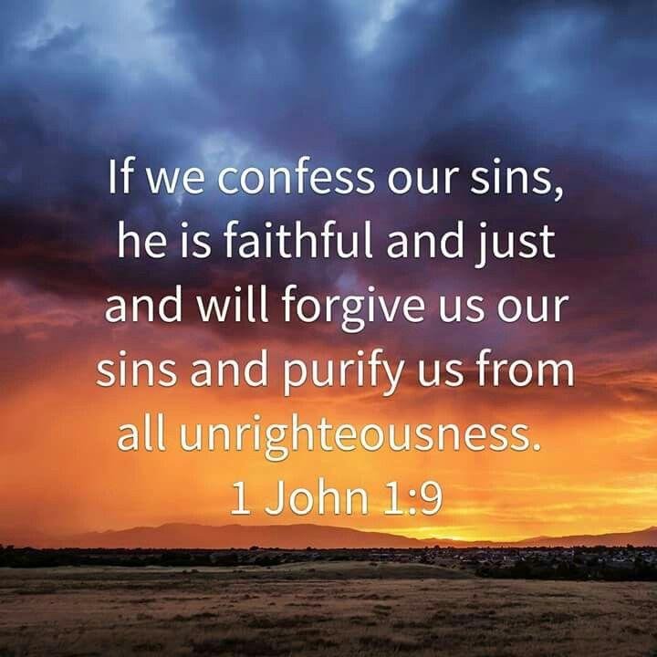 1 John 1 v 9 confess