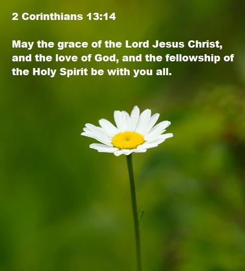 2 Corinthians 13 v 14