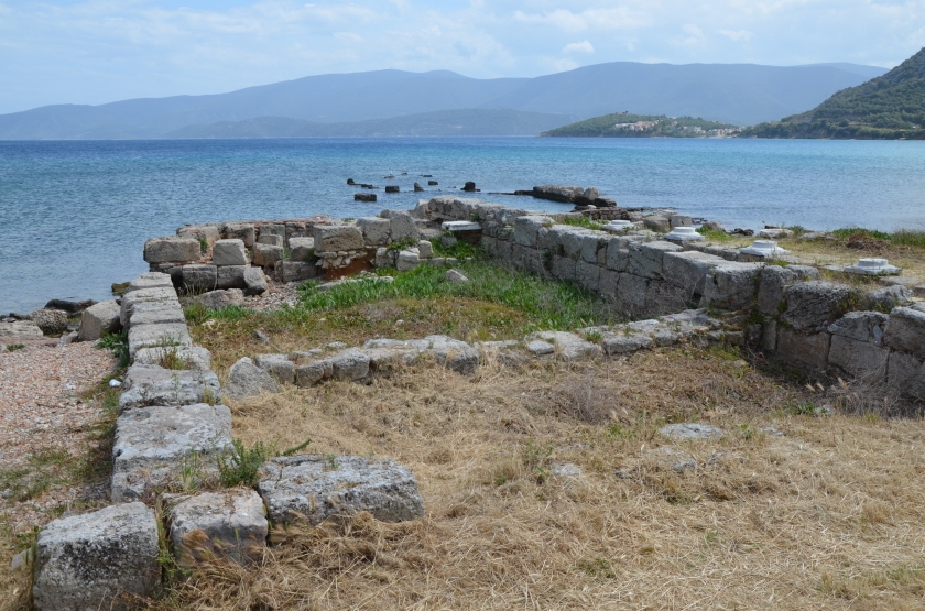 Ancient Corinth by the sea