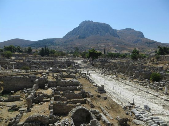 Ancient Corinth Theatre