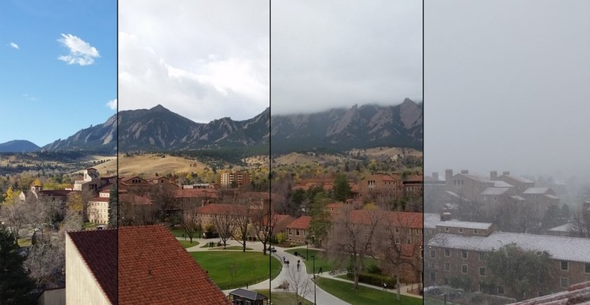 Boulder weather change