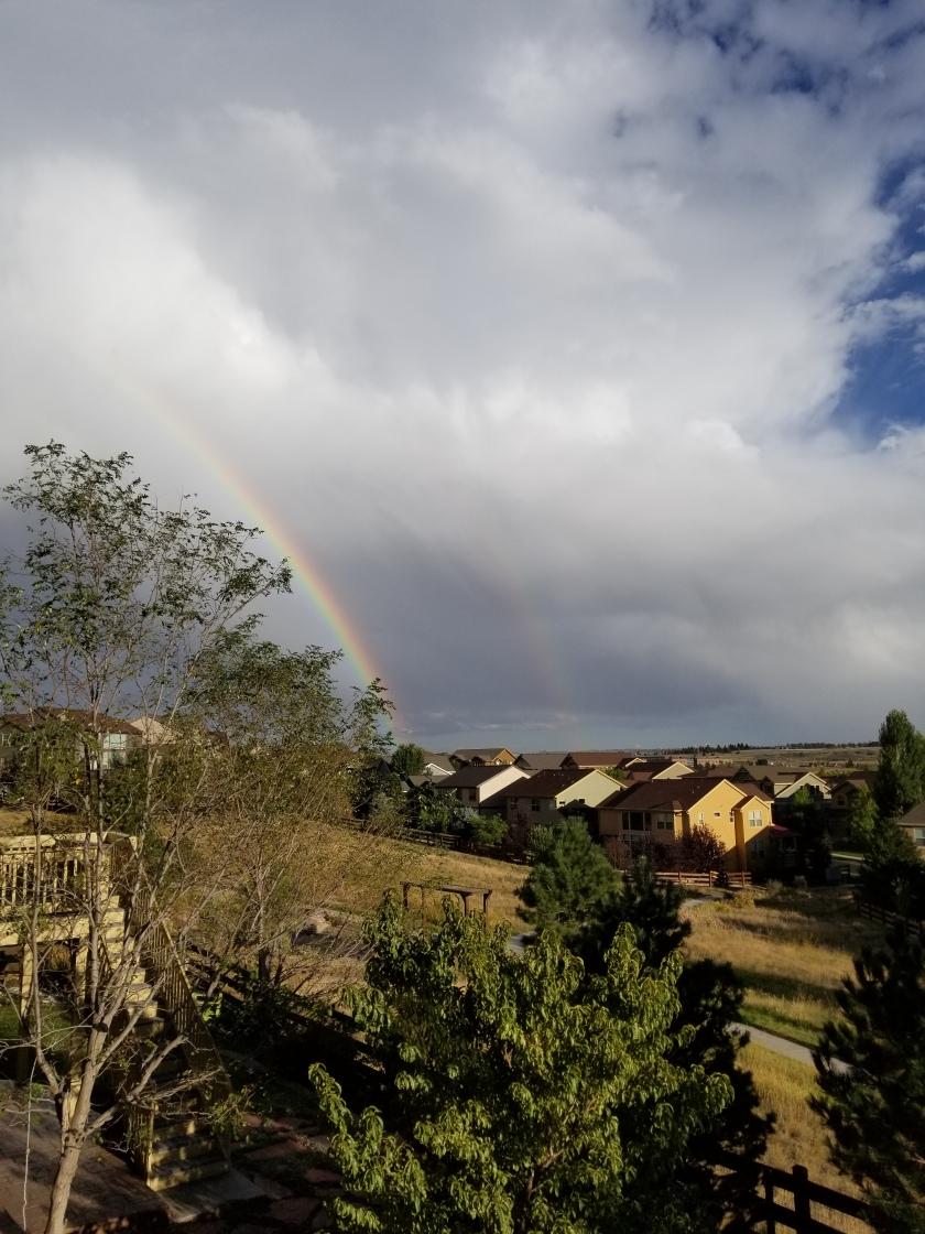 Double Rainbow 9-24-18