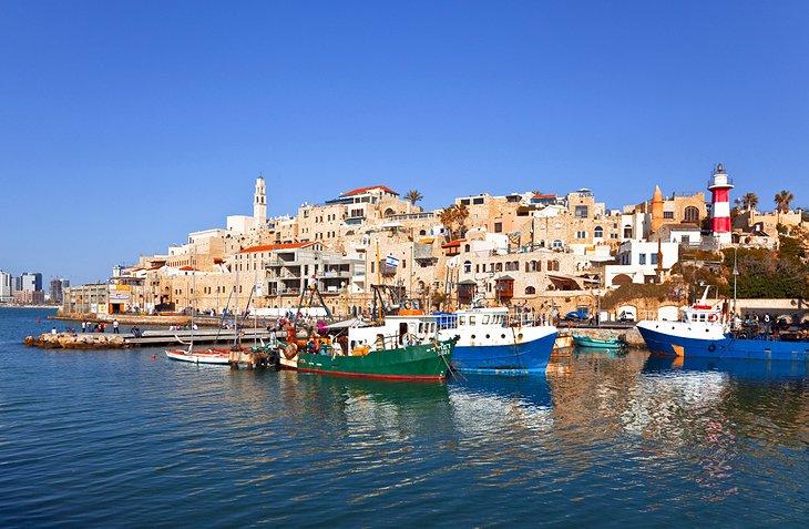 Jaffa, Israel boats