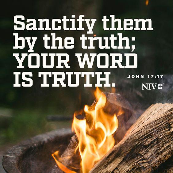 John 17 v 17