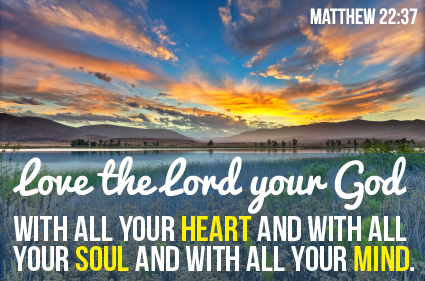 Matthew 22 v 37