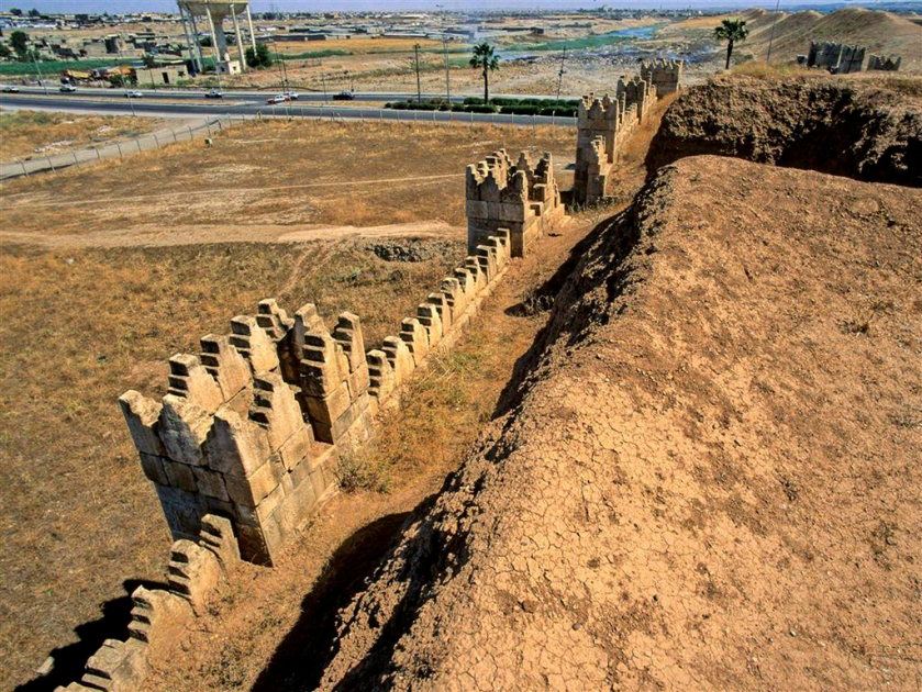 """Nineveh walls, near present day Mosul, Iraq"" by James Gordon"