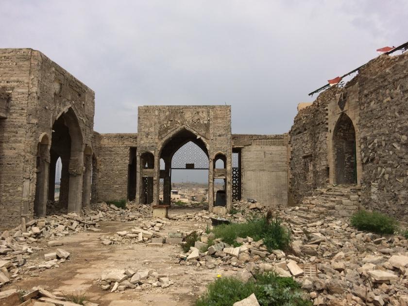 Nineveh ruins