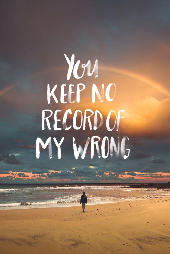 No record of wrong
