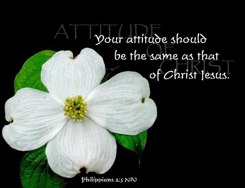 Philippians 2 v 5 attitude of Jesus