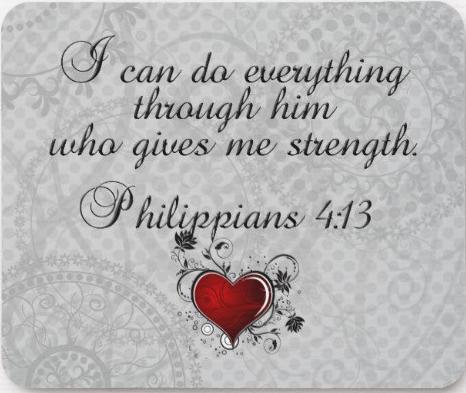 Philippians 4 v 13