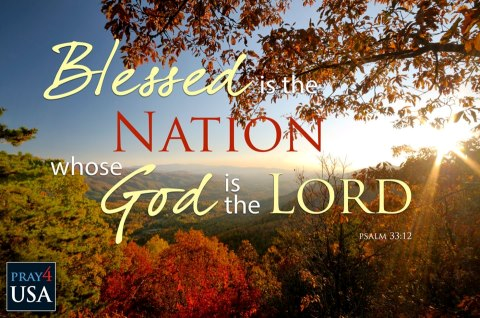 Psalm 33 v 12 blessed is the nation