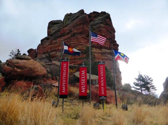 Red Rocks entrance