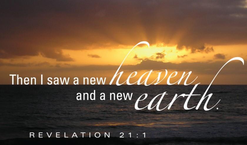 Revelation 21 v 1