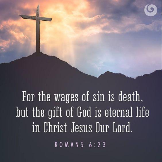 Romans 6 v 23