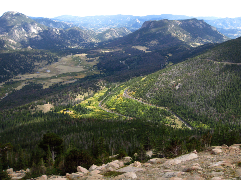 Trail Ridge Road big view