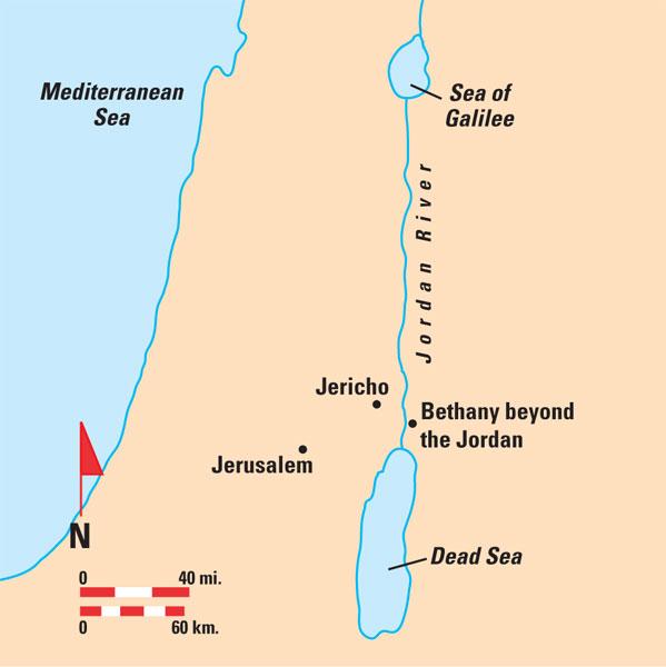 Jordan River Bethany beyond