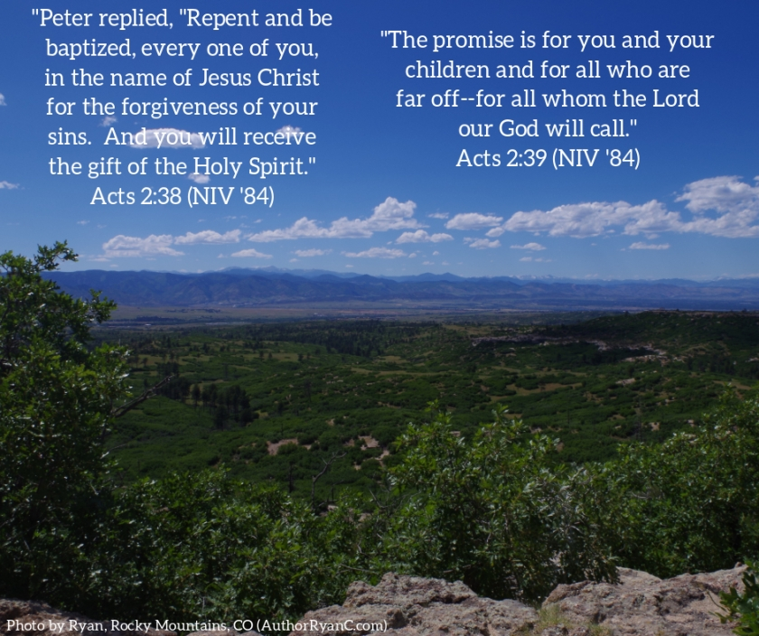 Pic quote Acts 2 v 38