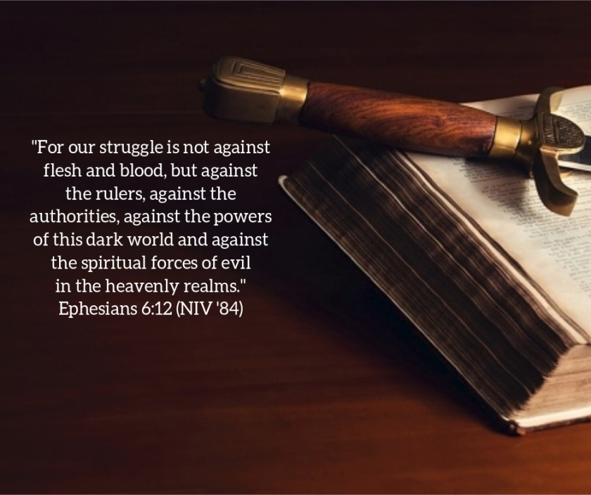 Pic quote Eph 6 v 12 sword