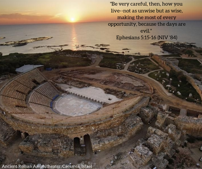 Pic quote Ephesians 5 v 15