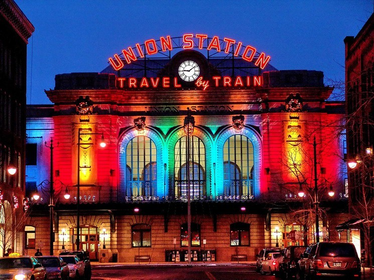Denver Union Station Christmas