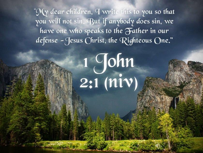 Pic quote 1 John 2 v 1