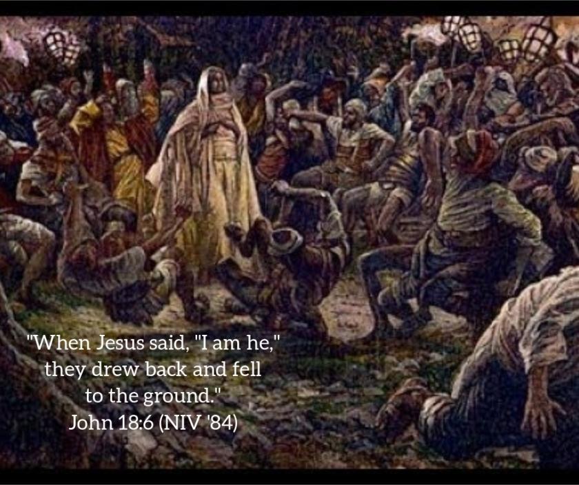 Pic quote John 18 v 6