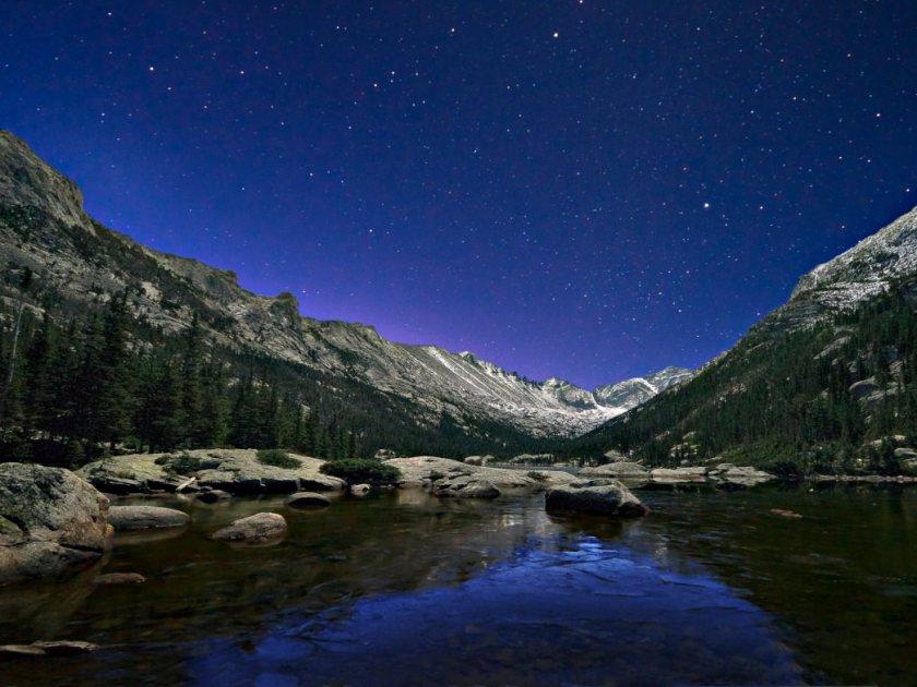RMNP night sky