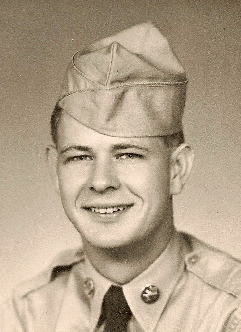 Grandpa in uniform