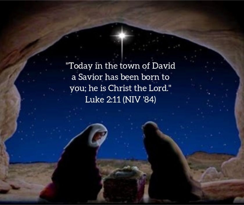 Pic quote Luke 2 v 11