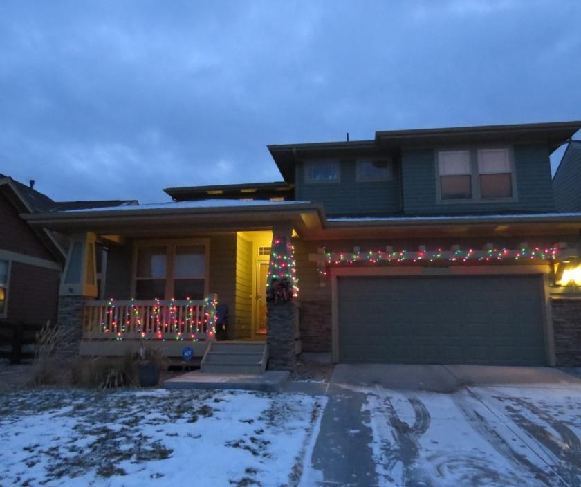 Christmas lights house 18